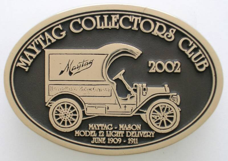 Maytag Collectors Club Buckle