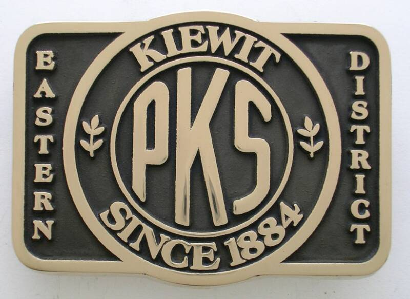 PKS Kiewit Belt Buckle