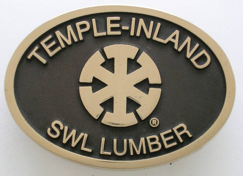 Temple-Inland Buckle