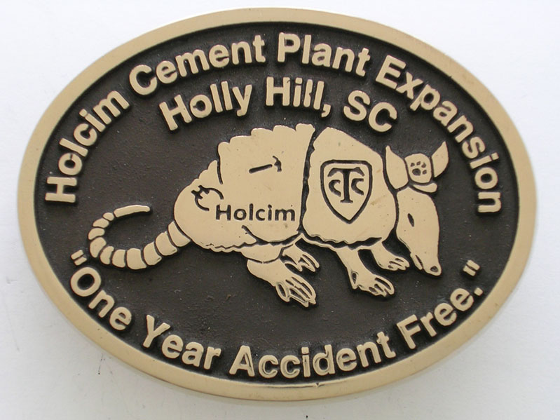 Holcim Cement Plant Buckle