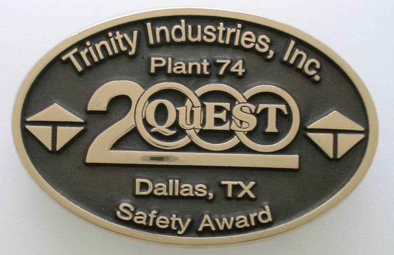 Trinity Industries Belt Buckle