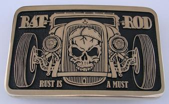Hot Rod Buckle Rat Rod